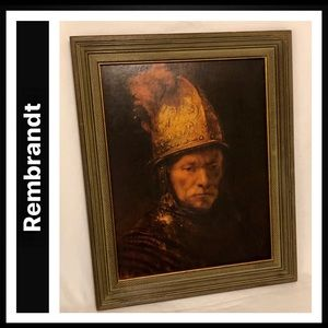 Rembrandt (The Man with the Golden Helmet, 1636)